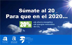 Suma't al 20 en monitors de totes les oficines de la CAM (en espanyol, valencià i anglés)