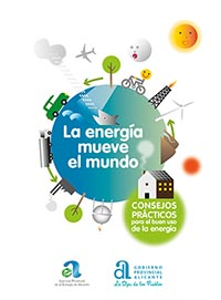 """Fullet """"L'energia mou el món"""": Consells pràctics per al bon ús de l'energia"""