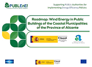 Full de ruta del projecte PUBLEnEF: Pla d'acció per a la implementació d'energia eòlica de xicoteta potència en els municipis costaners de la província d'Alacant
