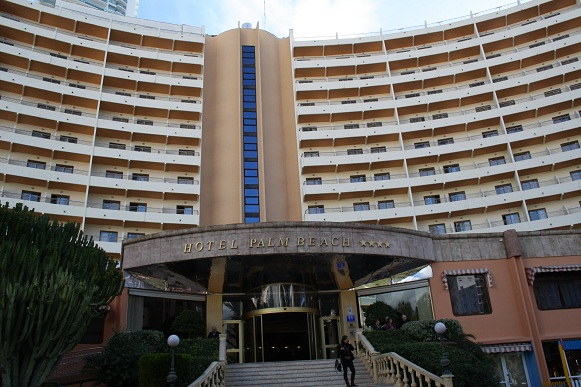 El Hotel Palm Beach de Benidorm acoge el estudio piloto de ahorro energético que impulsa la Diputación de Alicante