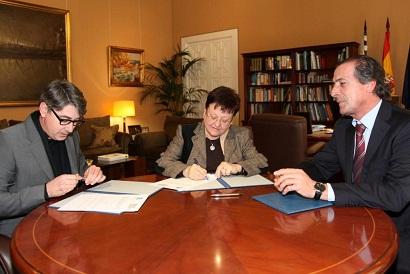 La Diputación, la Asociación de Hoteles y el Colegio de Arquitectos impulsan el ahorro energético en los establecimientos hoteleros y edificios de la provincia