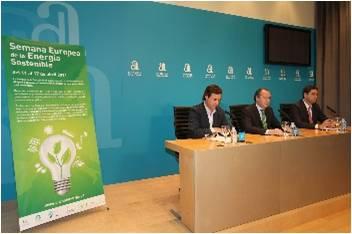 El próximo lunes arranca en Elche la 'I edición de la Semana Europea de la Energía Sostenible' que organiza la Diputación de Alicante