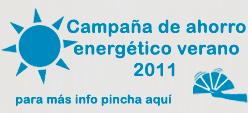 Campaña de ahorro energético verano 2011