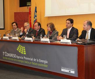 Joaquín Ripoll inaugura el I Congreso de la Agencia Provincial de la Energía sobre sostenibilidad y energías renovables
