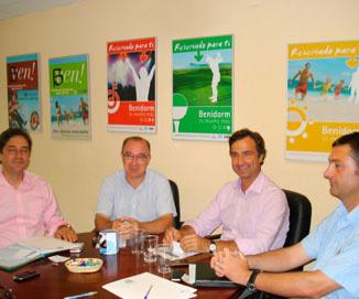 La Agencia Provincial de la Energía promueve junto a HOSBEC un protocolo de ahorro energético en Benidorm