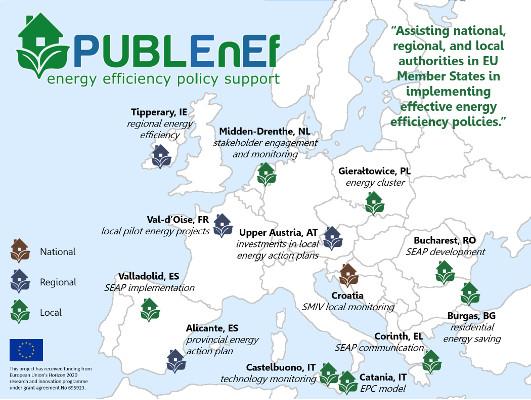Presentación en la Agencia de la hoja de ruta del proyecto PUBLENEF