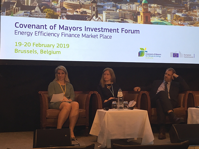 Covenant of Mayors Investment Forum 2019