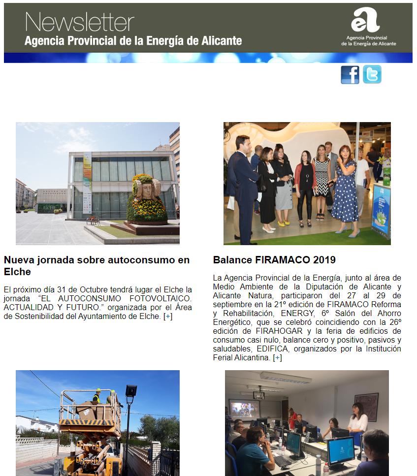 Boletín 25 – 3º Trimestre 2019
