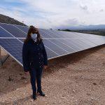 Visita a planta de bombeo solar en Villena
